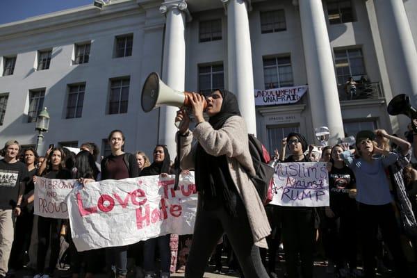 Trump Rally Berkeley