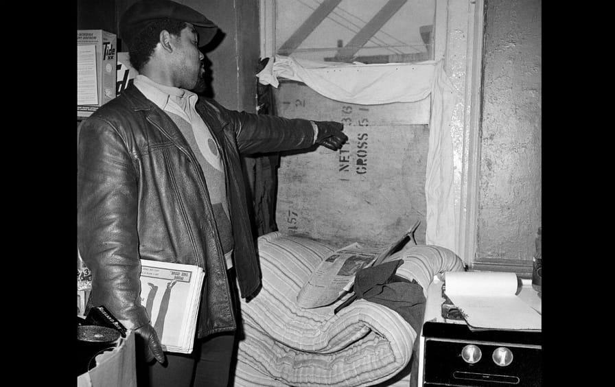 The scene where Fred Hampton was killed
