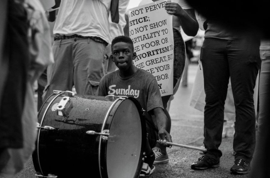 Protesters-in-Ferguson-Missouri-on-August-15-2014