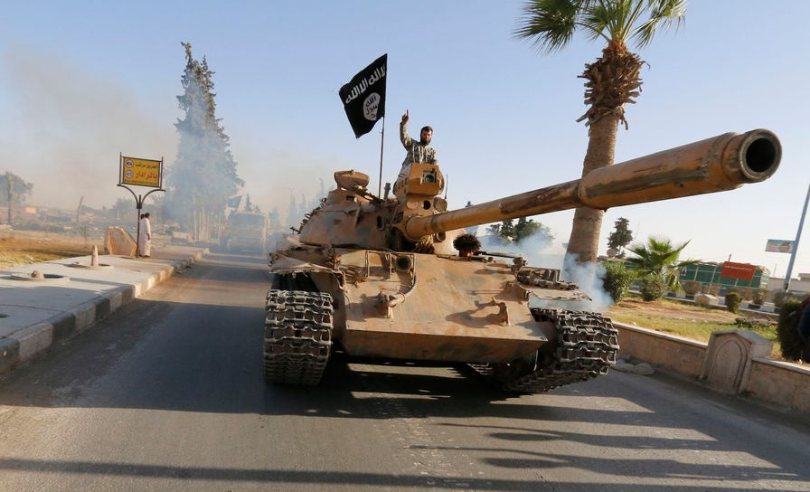Islamic-State-Militants-in-Raqqa