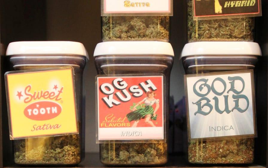 Medical-marijuana-products-at-Canna-Pi-medical-dispensary-in-Seattle