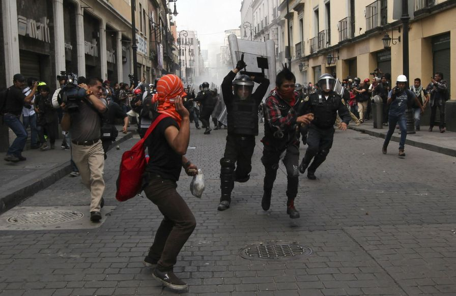 Mexico-protests