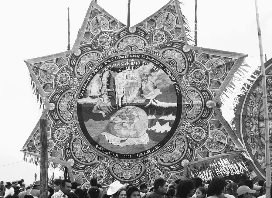 Kite-from-a-Sumpango-Sacatepequez-Day-of-the-Dead-festival-in-Guatemala-in-2007