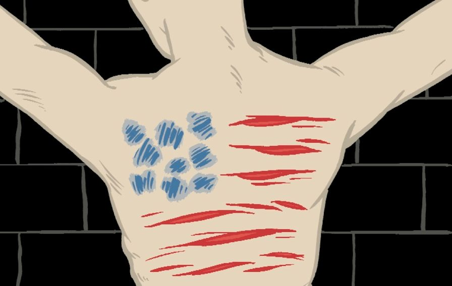 American-flag-illustration