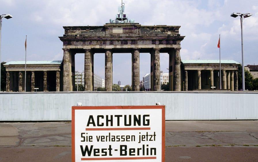 Berlin Wall, 1981