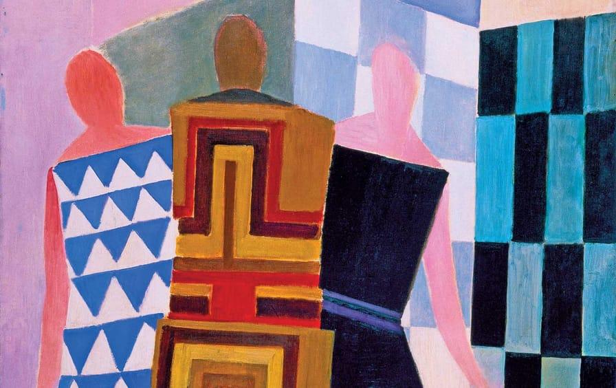 Sonia-Delaunay-Simultaneous-Dresses-The-Three-Women-1925