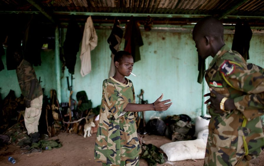 Child-soldiers-in-South-Sudan