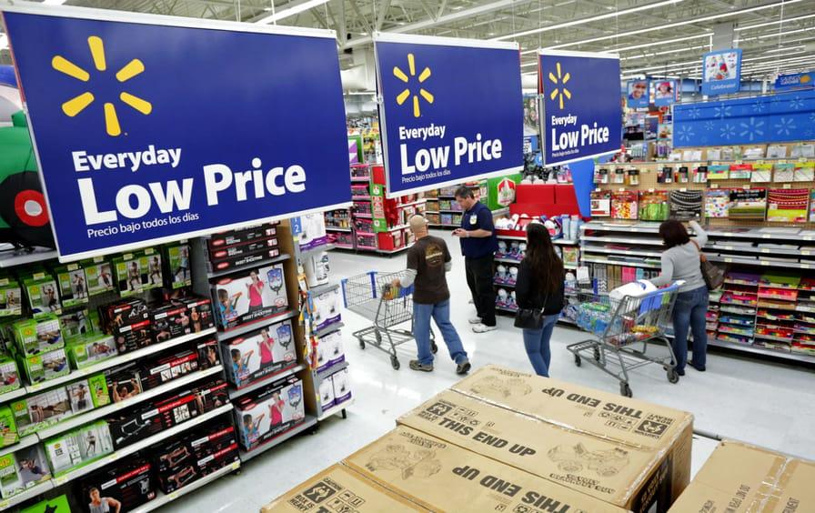 Walmart Interior