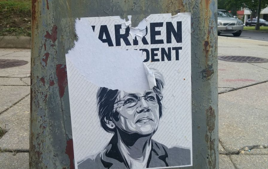 A-ripped-Warren-for-President-poster