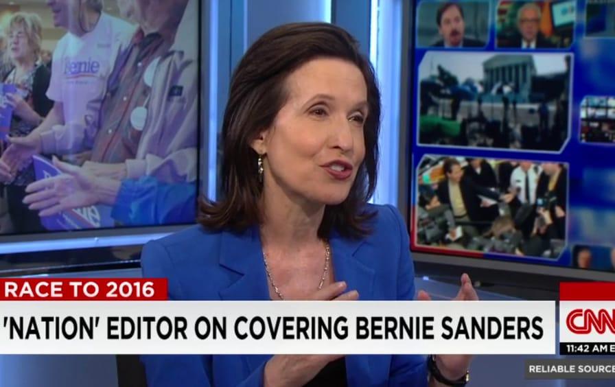 Katrina vanden Heuvel on CNN's 'Reliable Sources'