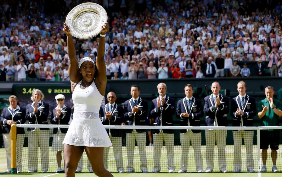 Serena Williams at Wimbledon