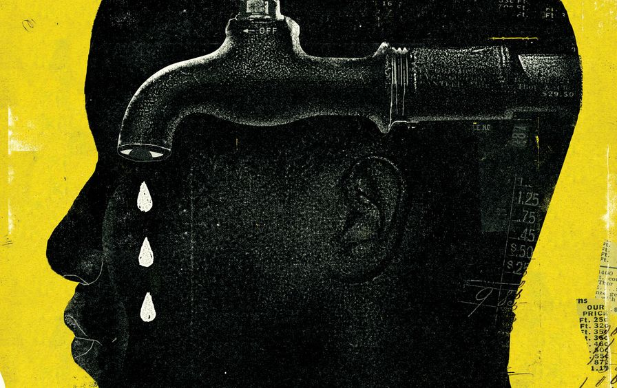 Detroit Water Crisis illustration