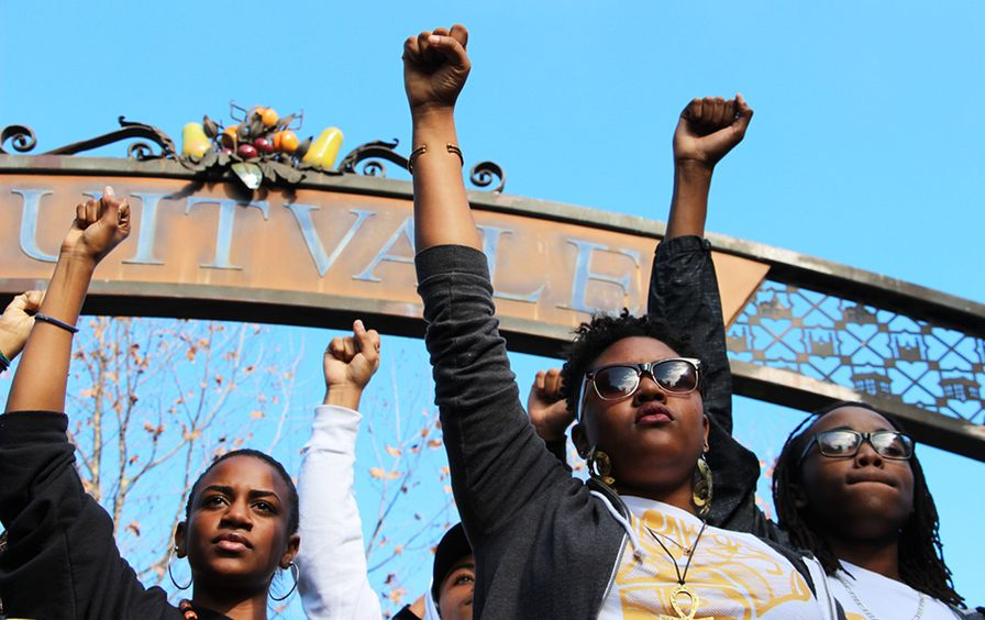 Students Protest BLM