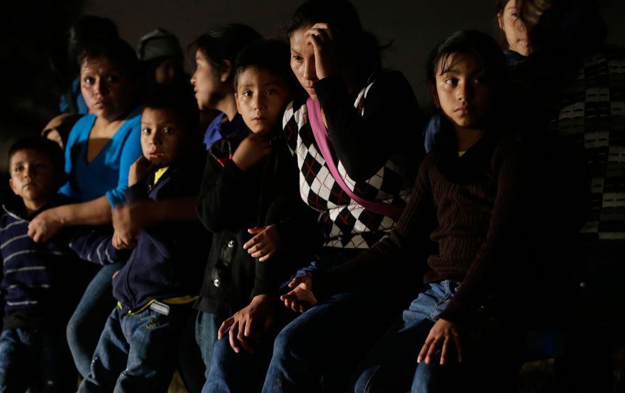 Immigrant family detention