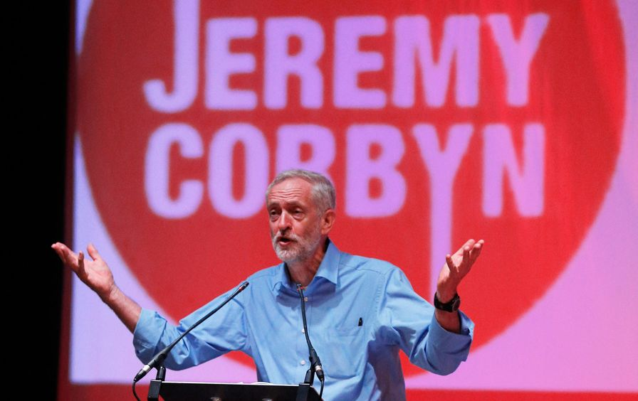 Labour Party leadership candidate Jeremy Corbyn (Reuters/Russell Cheyne)