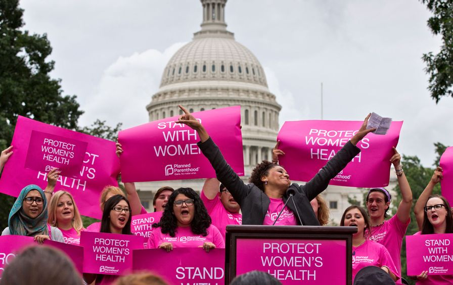 Planned Parenthood rally in DC