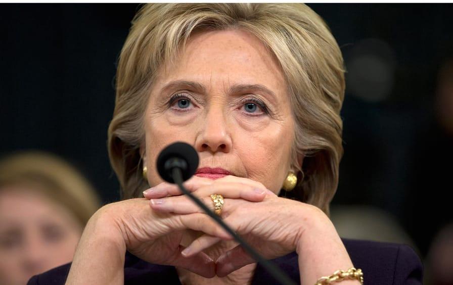 Clinton listens during her testimony on Capital Hill on Thursday, October 22, 2015.