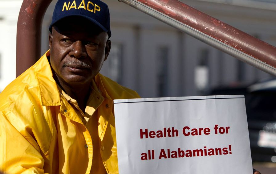 Alabama Medicaid protest