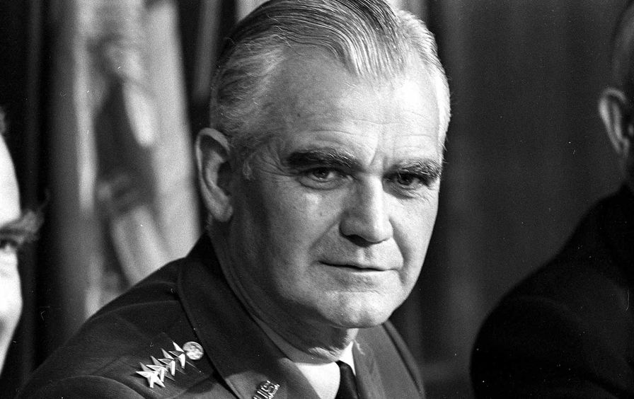 US Army Joint Chiefs General William C. Westmoreland, 1972.