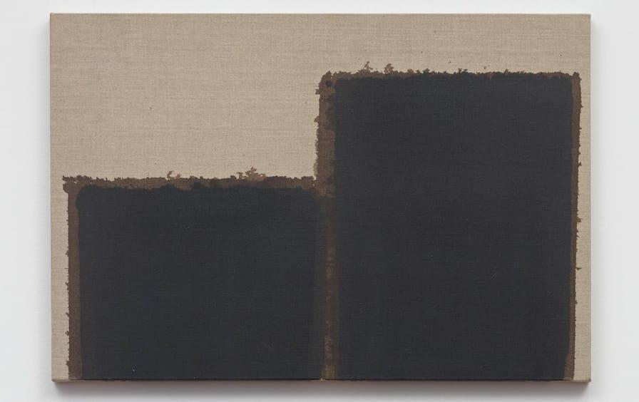 Burnt Umber & Ultramarine (1993), by Yun Hyong-keun.