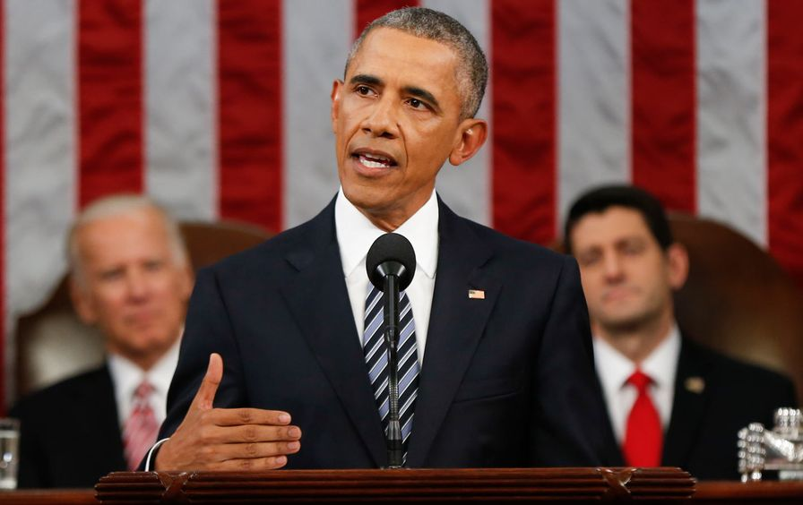 Obama gives State of the Union