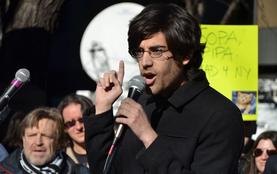 Aaron Swartz in 2012.