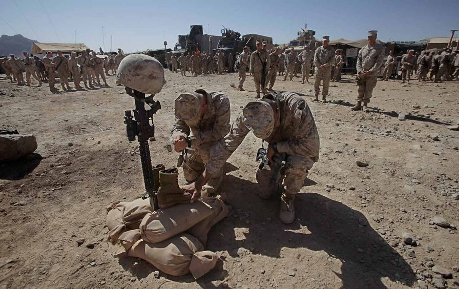 Soldiers Mourn