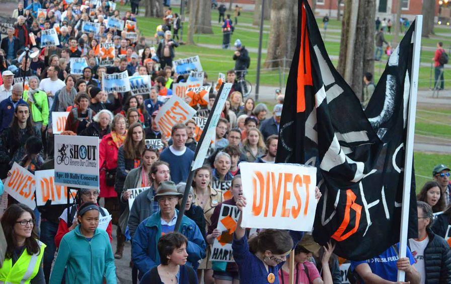 Protest Fossil Fuel