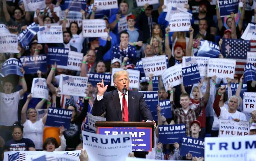 Donald Trump in Wilkes Barre