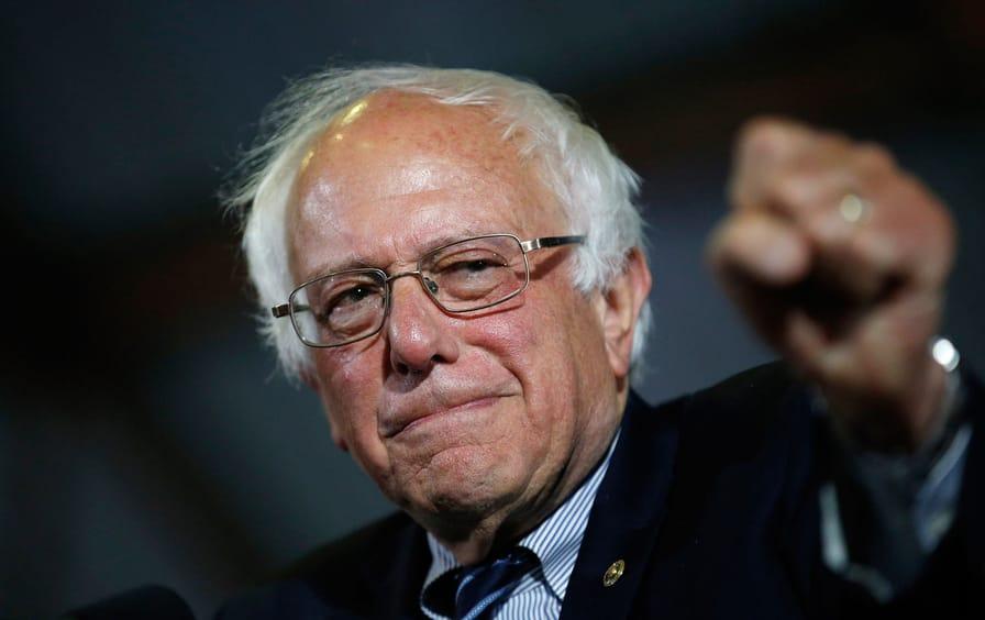 Sanders in California