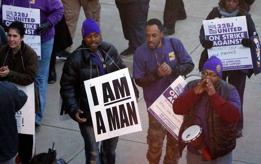 Airport Workers Strike, Philadelphia