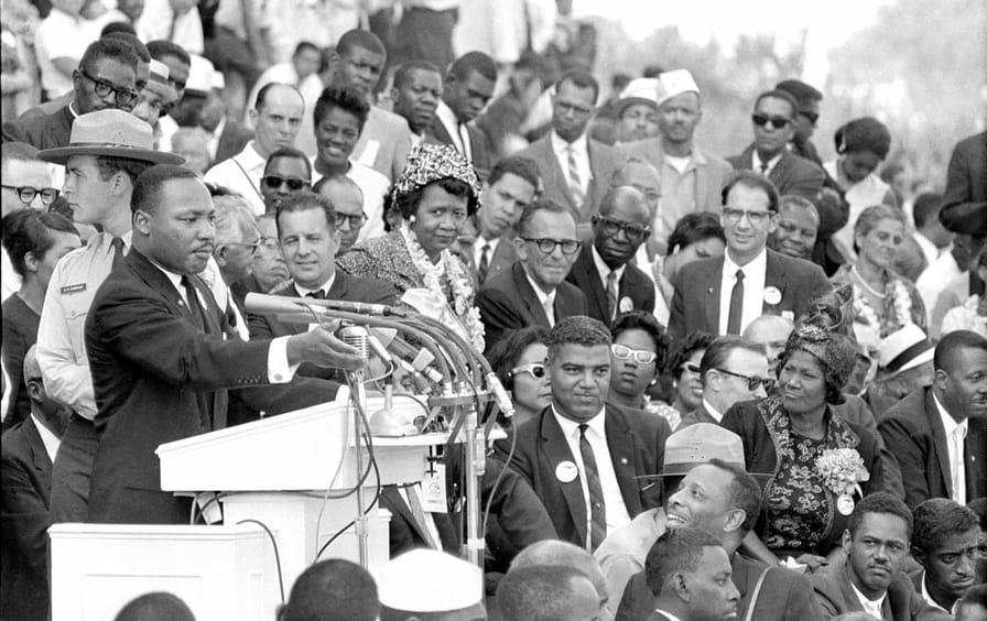 MLK Speaks During March on Washington