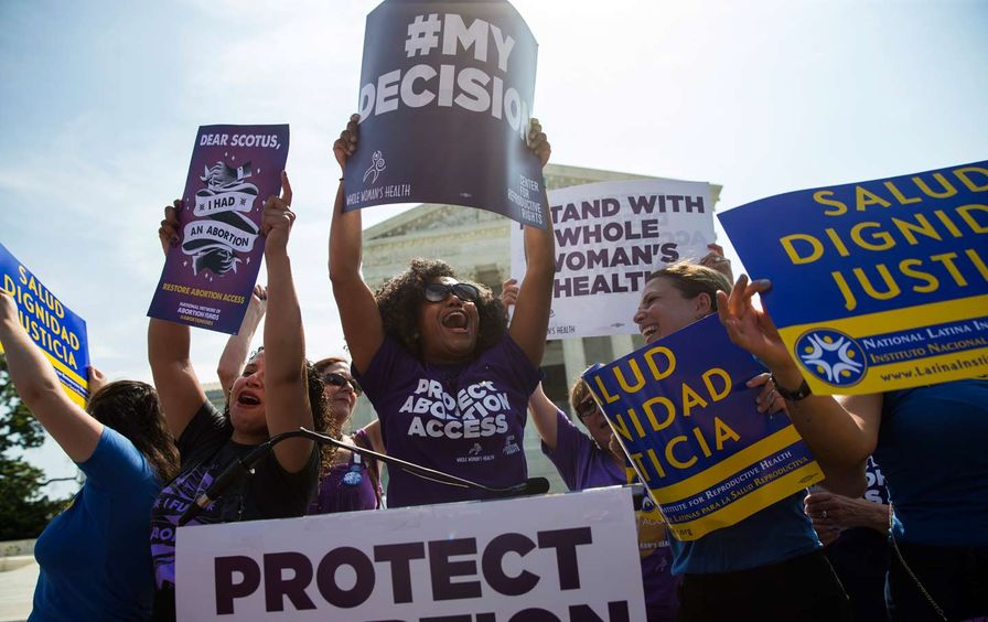 Pro-Choice Supreme Court Celebrate