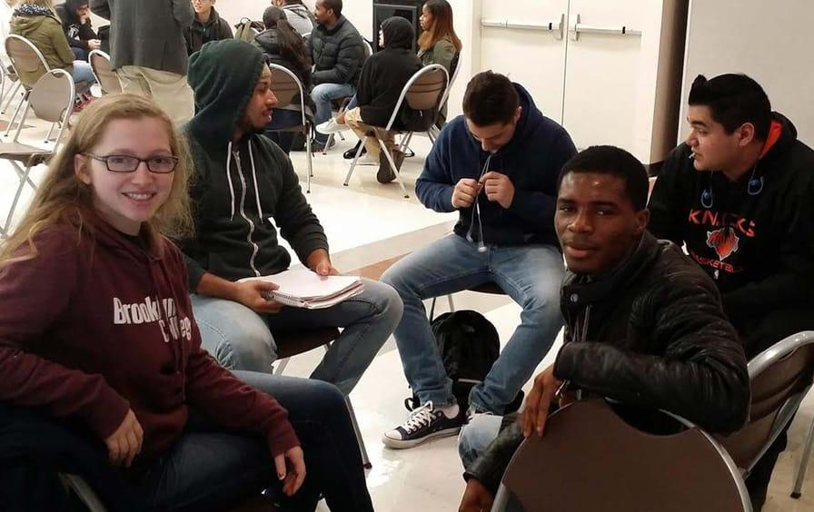 Brooklyn College student activists