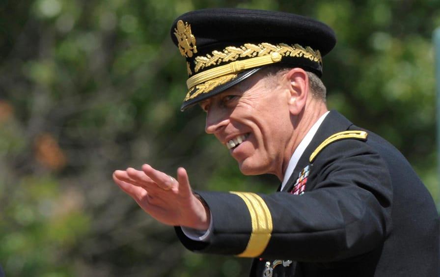 General David Petraeus retirement