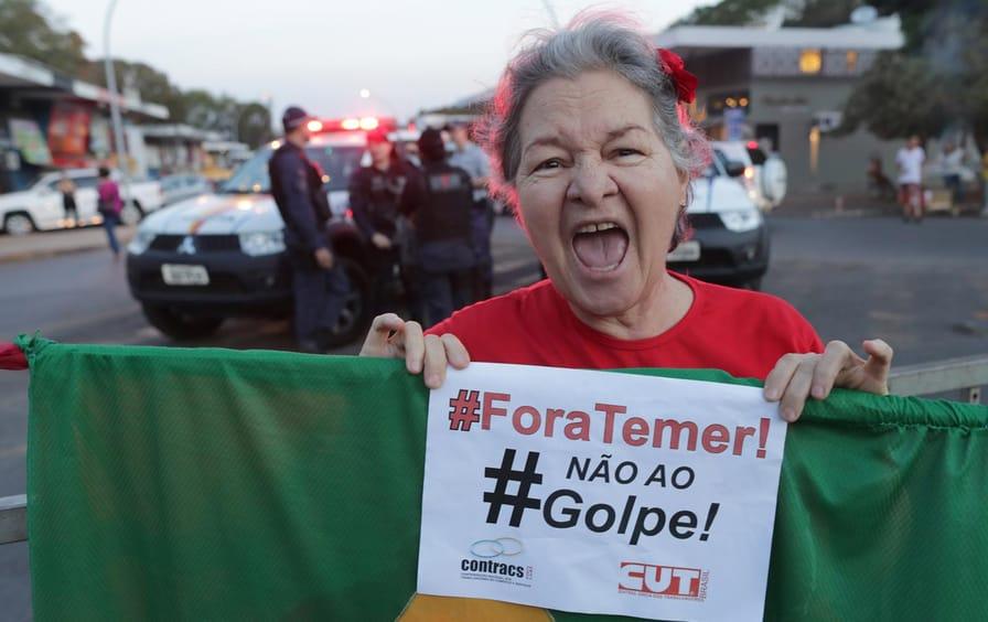 Dilma Rousseff Rally