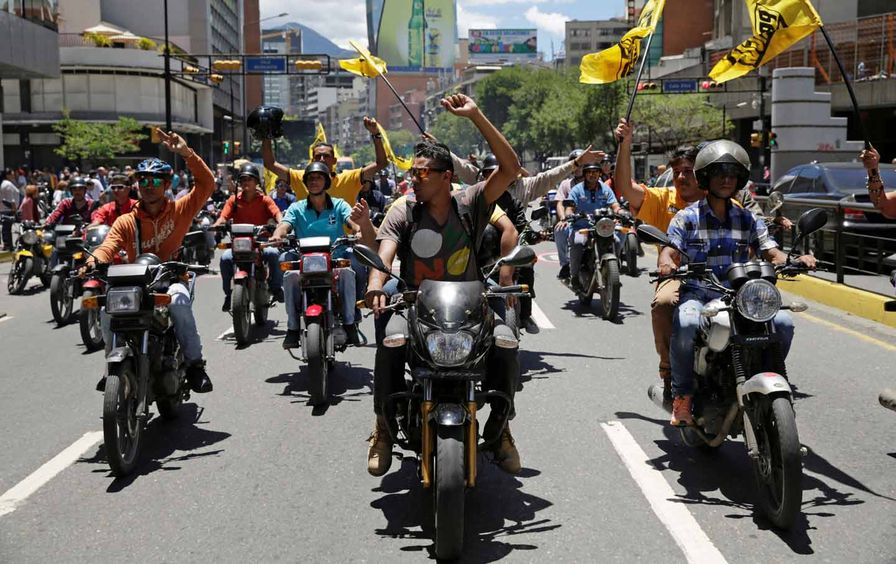 Opposition Motorcycles Venezuela