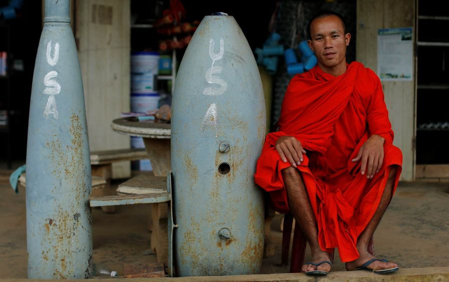 Laos Unexploded Bombs