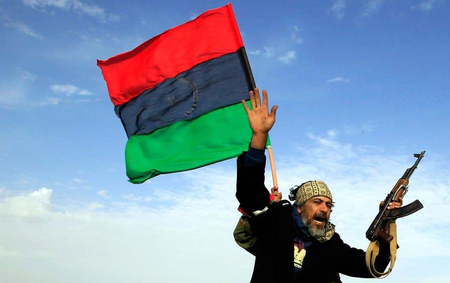 Libya rebel soldier