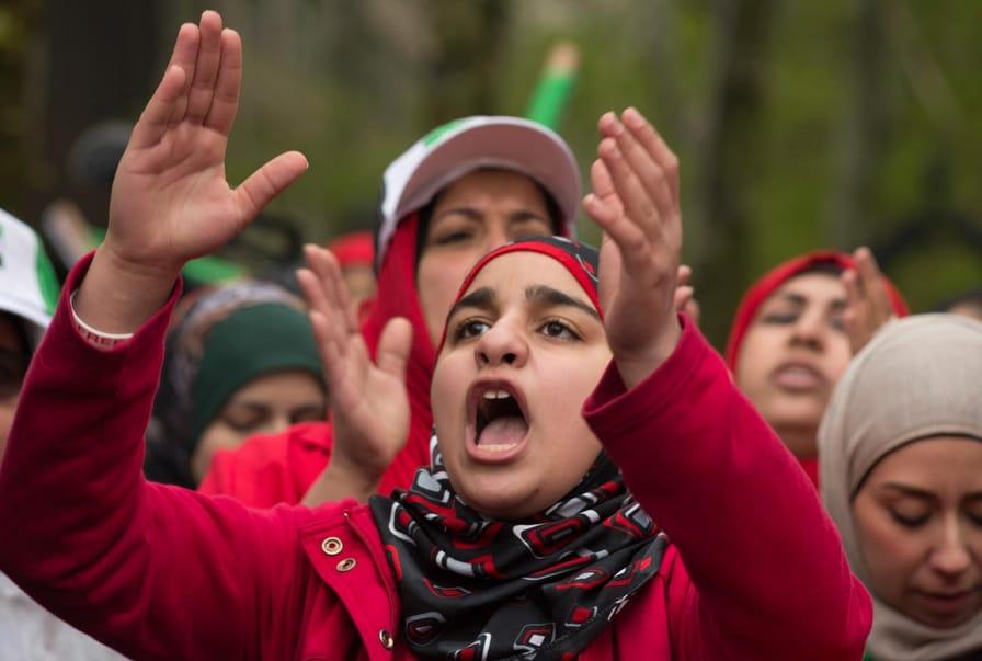 Anti-Regime Syria Rally