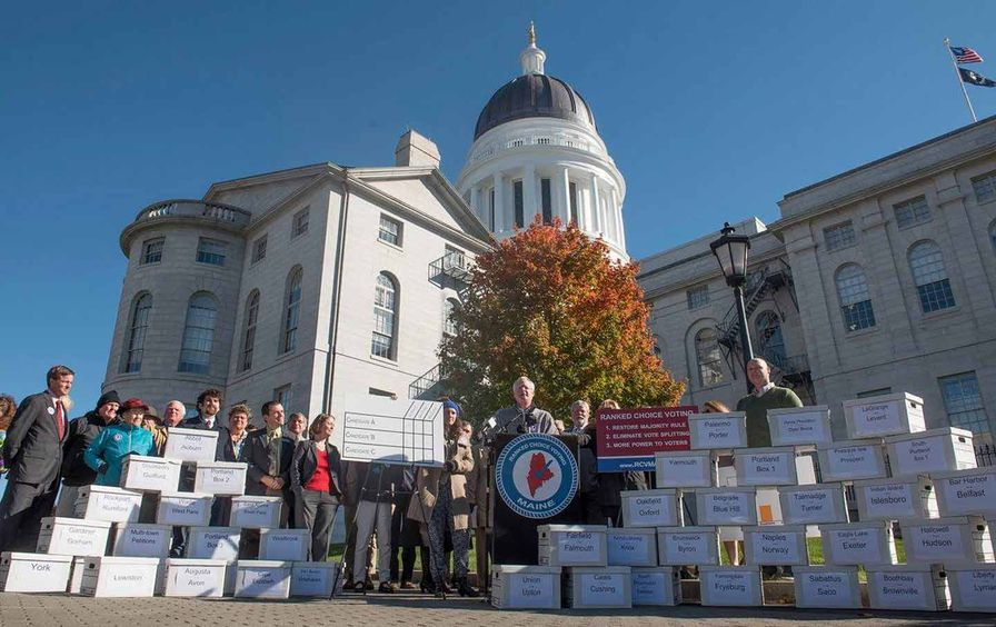 Maine ranked choice voting