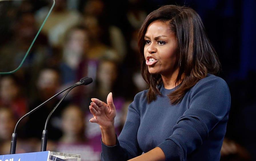 Michelle Obama Manchester