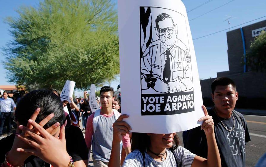 Joe Arpaio Protest
