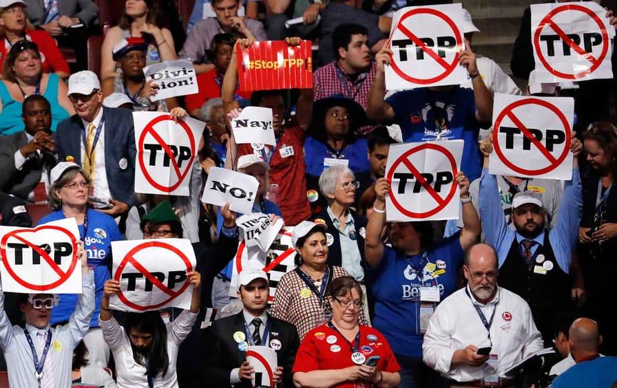 Stop TPP at DNC