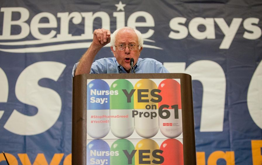 Bernie Sanders Yes on 61