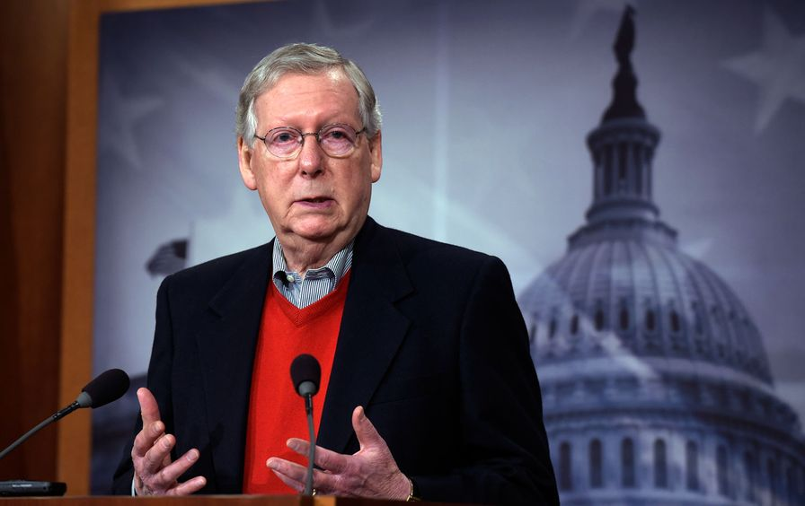 Mitch McConnell Russia Hacking