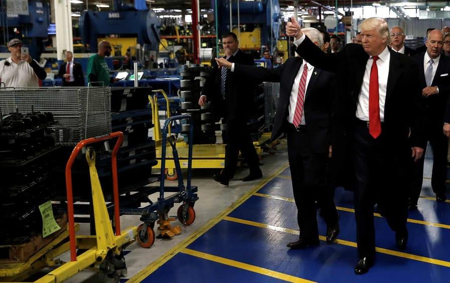 Donald Trump Carrier Factory