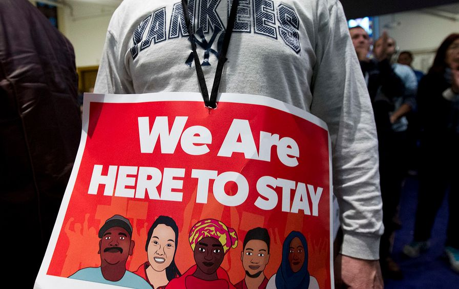Immigrant rights rallies