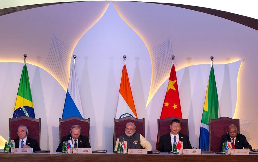 BRICS leaders at the summit