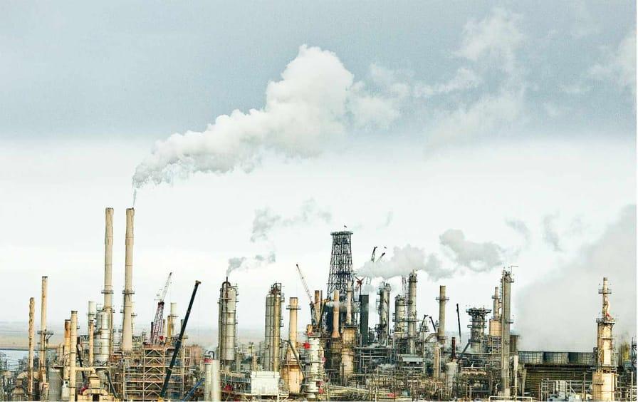 San Francisco Oil Refinery